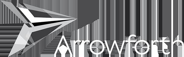 Arrowforth Logo White transparent 600